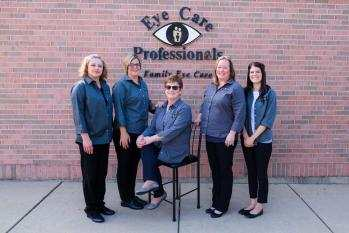 eye care professionals staff