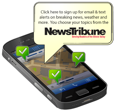 sign up for newstrib alerts